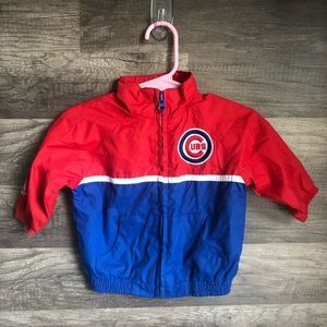 Chicago Cubs MLB Full Zip Baby Jacket 3/6 Months